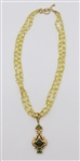 Robin Rotenier 18 k Beaded Necklace