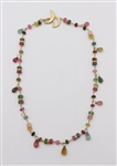 Talisman 18k Confetti Gemstone Necklace