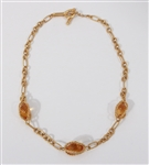 David Yurman 18 k Citrine Necklace