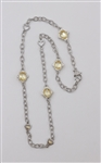 Judith Ripka 18k and 925 Necklace