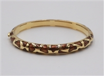 "Roberto Coin 18k Enamel ""Giraffe"" Bangle"