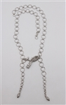 John Hardy Sterling Dragon Lariat Necklace