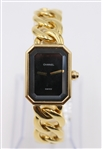 Ladies Chanel Premiere 18K Gold Dress Wristwatch