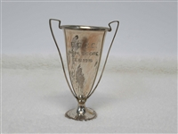 Sterling Silver Loving Cup Trophy