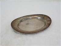 Poole Sterling Silver Oval Tray