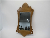 Maple Chippendale Style Wall Mirror