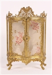 Diminutive Louis XV Style Gilt Metal Cabinet