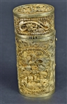Chinese Gilt-Silver Bodkin Case