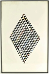 Print, Abstract Diamond, Yaacov Agam