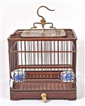Wood & Wire Bird Cage