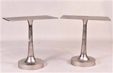 "Pair of ""Bellamy"" Rectangular Side Tables"