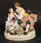 Italian Porcelain Figural Group