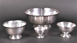 Tiffany & Co Sterling Silver Revere Form Bowl