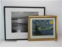 Van Gogh Framed Starry Night Print