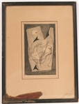 Ferdinand Springer, Lithograph Abstract Figures