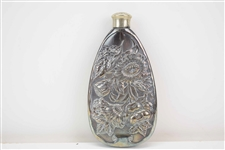 Early 20th C. Silver Plate Flask
