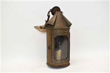 Paul Revere Painted Tole Lantern