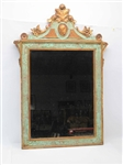 Florentine Faux-Marble and Gilt Mirror