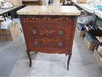 Antique Dutch Marquetry Commode Chest