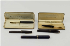 Group of Assorted Watermans Fountain Pens