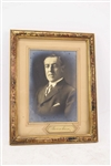 Woodrow Wilson Photograph with Autograph