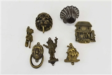 Group of Small English Door Knockers